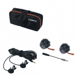 Microfone lapela duplo CVM-D02