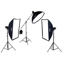 Kit Light Led HC 1000A com Três fontes de luz