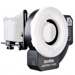 Ring Flash Witstro 400 AR - Godox 4 e Led - 2 em 1